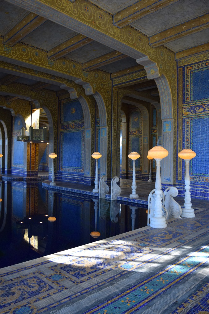 Blonde in Grey - Hearst Castle (49)
