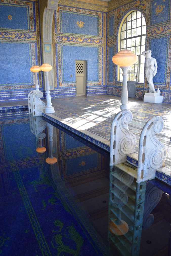 Blonde in Grey - Hearst Castle (51)