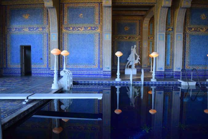 Blonde in Grey - Hearst Castle (55)