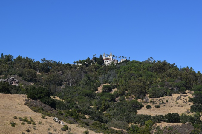 Blonde in Grey - Hearst Castle (7)