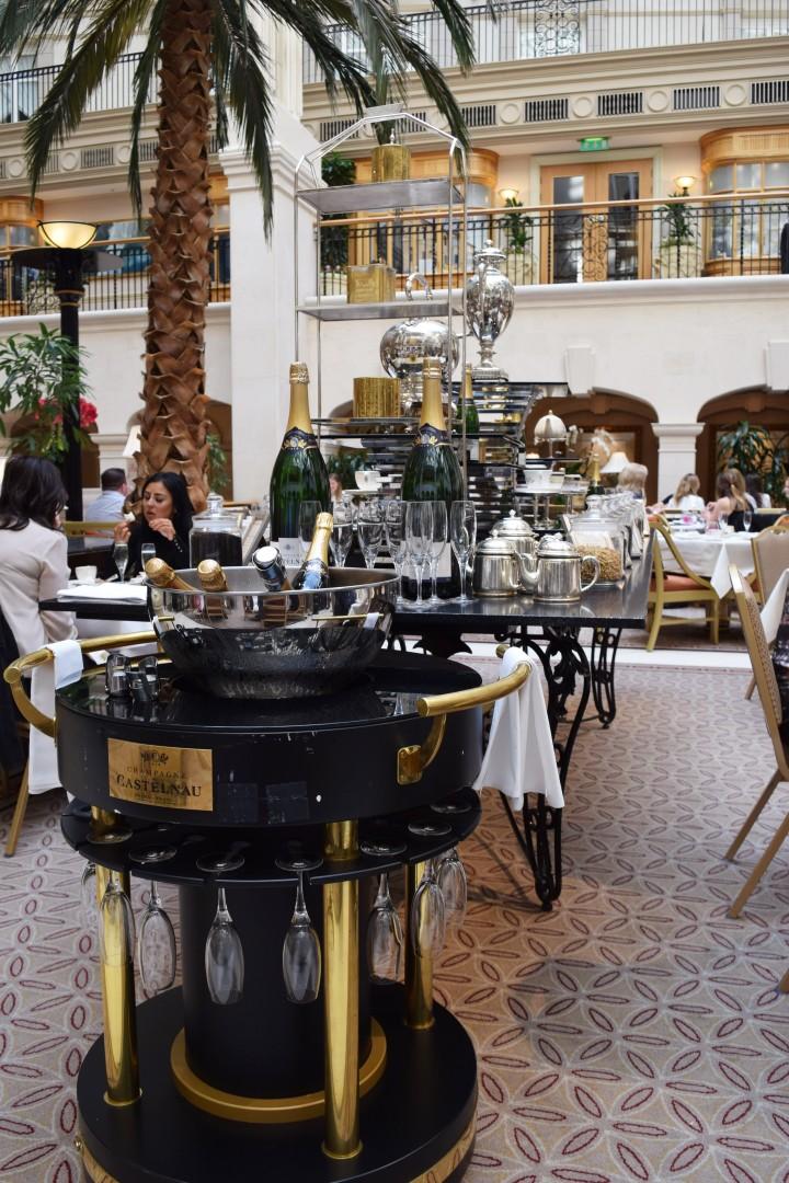 Surprise Birthday Tea at The Langham - Blonde In Grey (10)
