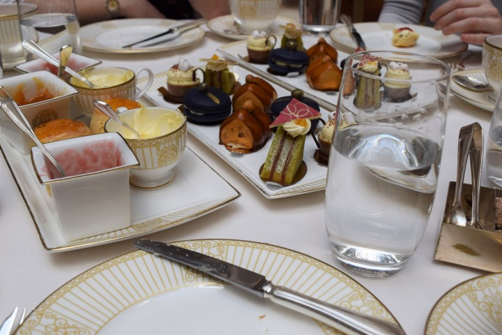 Surprise Birthday Tea at The Langham - Blonde In Grey (16)