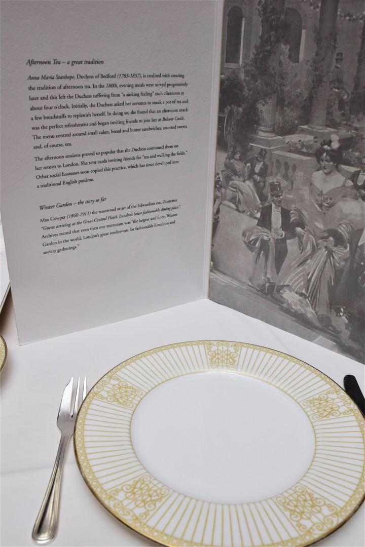 Surprise Birthday Tea at The Langham - Blonde In Grey (3)