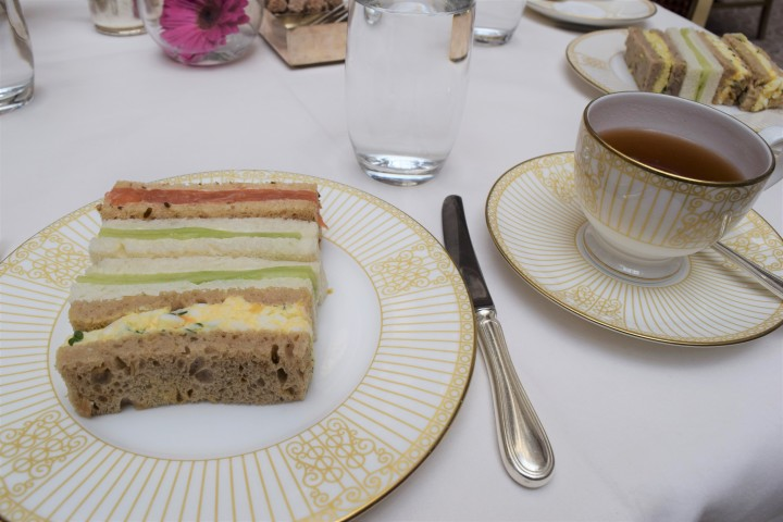 Surprise Birthday Tea at The Langham - Blonde In Grey (9)