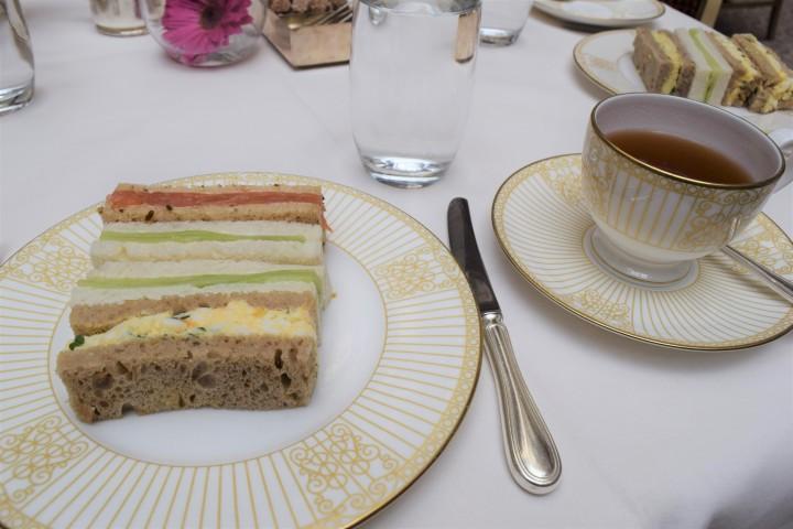 Surprise Birthday Tea at The Langham - Blonde In Grey (9)